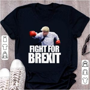 Official Boris Johnson Fight For Brexit shirt