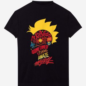 Official Captain Marvel Mohawk I Saved The World Today shirt