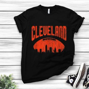 Official Cleveland Skyline Ohio Vintage shirt