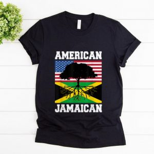Official Jamaican American Flag Grown Roots shirt