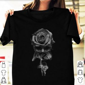 Official Skull Rose Smoke shirt