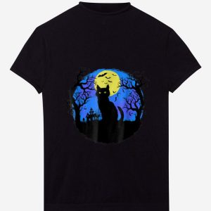 Original Black Cat at Night Halloween shirt