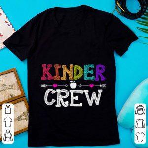 Original Kinder Crew First day of School shirt