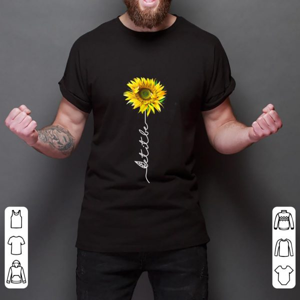 Original Let It Be Sunflower shirt