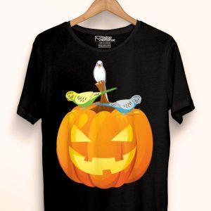 Pet Budgie Halloween Costume Budgerigar Parrot Owners shirt
