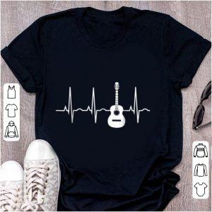 Premium Acoustic Guitar Heartbeat Musician shirt