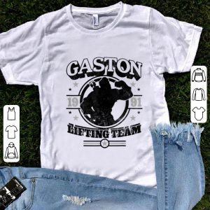Premium Disney Beauty And The Beast Gaston Lifting Team shirt
