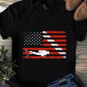 Premium Diver Down American Flag shirt
