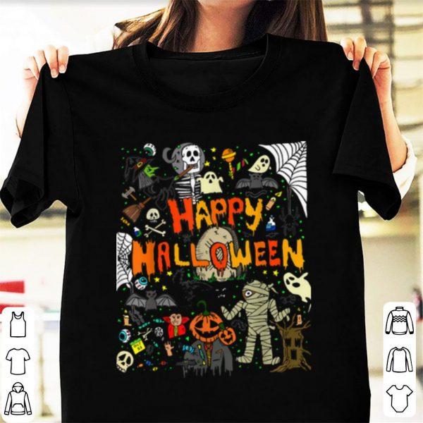 Premium Happy Halloween Scary Retro shirt