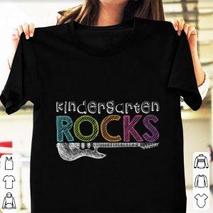 Premium Kindergarten Rocks With Guitar Electric shirt