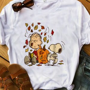 Premium Snoopy And Charlie Hello Fall shirt