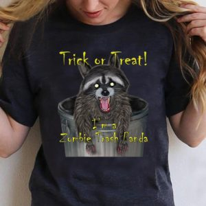 Premium Trick Or Treat I'm A Zombie Trash Panda shirt