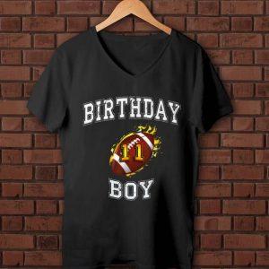 Pretty 11th Birthday Boy USA Football shirt