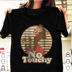 Pretty Disney Emperor's New Groove Kuzco Llama No Touchy shirt
