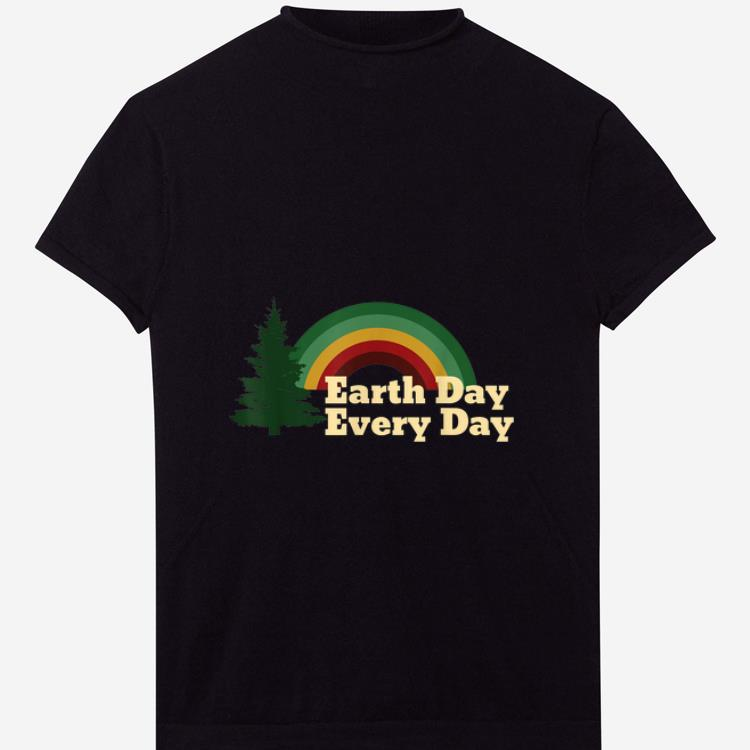 Pretty Earth Day Everyday Rainbow Pine Tree shirt 1 - Pretty Earth Day Everyday Rainbow Pine Tree shirt