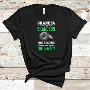Pretty Grandpa And Grandson the Legend And The Legacy shirt