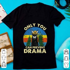 Pretty Llama Only You Can Prevent Drama Vintage shirt