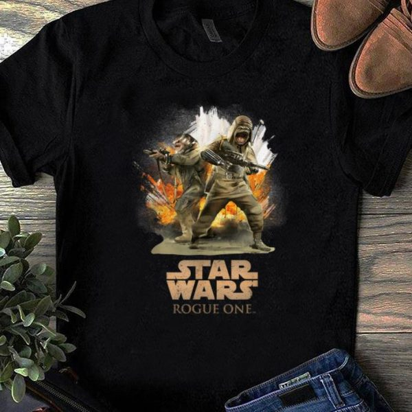 Pretty Star Wars Rogue One Pao and Bistan Battle shirt