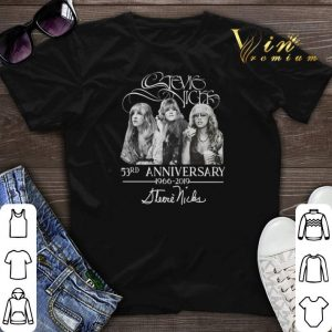 Signature Stevie Nicks 53rd anniversary 1966-2019 shirt