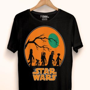 Star Wars Characters Trick Or Treat Halloween shirt