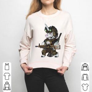 Tactical Unicorn Soldier Patriot Veteran Bundeswehr Einhorn shirt