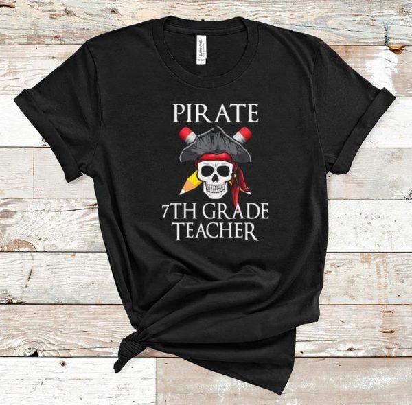 Top 7th Grade Teacher Halloween Party Costume Gift shirt