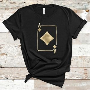 Top Ace Of Diamonds Playing Card Halloween Costume Glam shirt