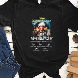Top Christmas Vacation 30th Anniversary 1989 2019 Signature shirt