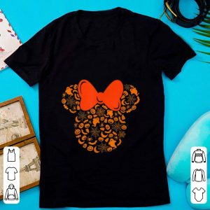 Top Disney Minnie Mouse Halloween Silhouette shirt