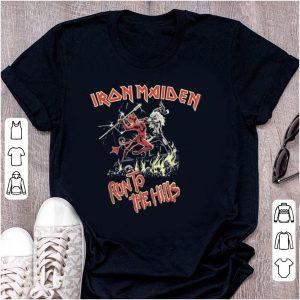 Top Iron Maiden Run To The Hills shirt