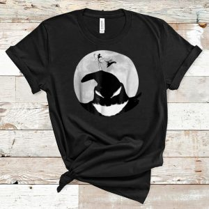Top Jack Skellington Disney Nightmare Oogie Boogie Moon shirt