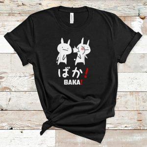 Top Kawaii Neko Baka Japanese Word shirt