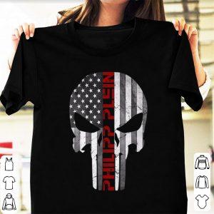 Top Philipp Plein Skull Rhinestones American shirt