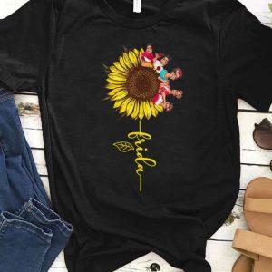 Top Sunflower Frida Kahlo shirt