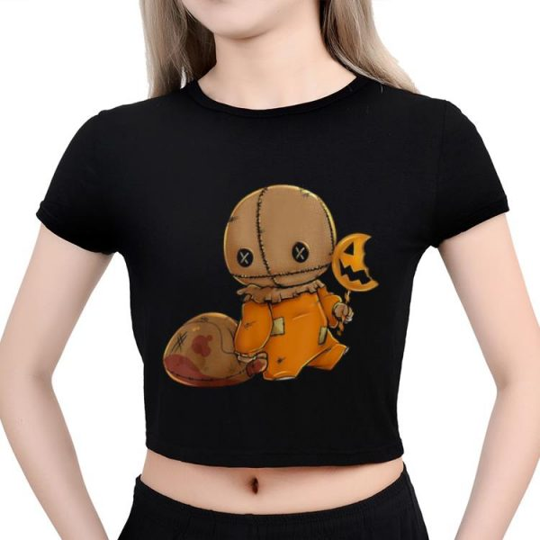 Top Trick R Treat Funny Cute Sam Halloween 2018 Costume shirt