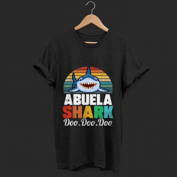 Top Vintage Abuela Shark Doo Doo Doo shirt