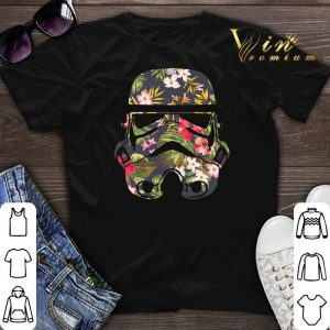 Tropical Stormtrooper Flower shirt sweater
