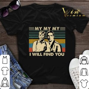 Vintage Lt Joe Kenda My my my i will find you shirt
