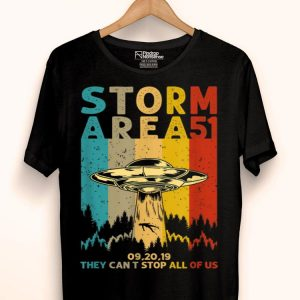 Vintage Storm Area 51 They Cant Stop All Of Us shirt