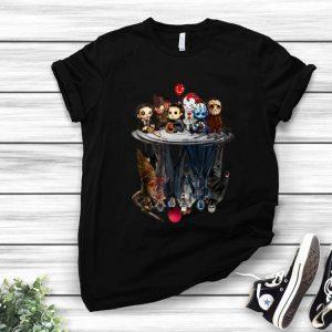 Creepy Cute Horror Character Reflection Water Mirror shirt