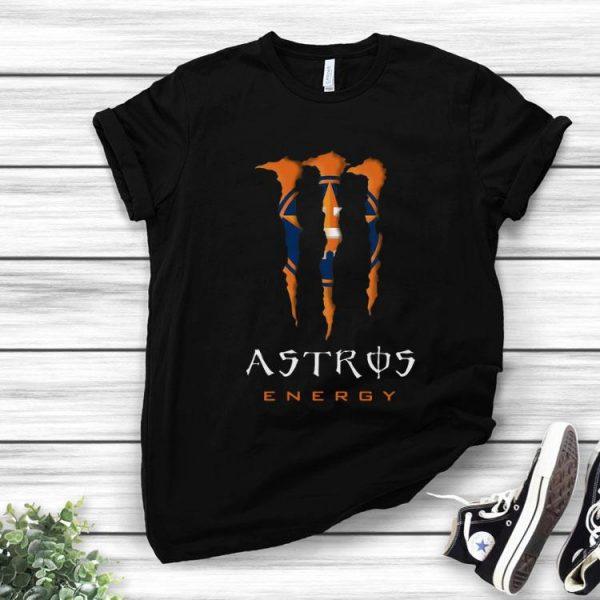 Houston Astros Energy MLB Monster Energy shirt