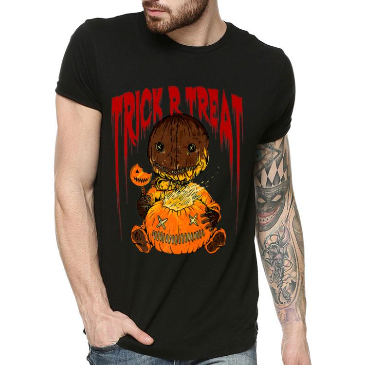 4 3 - Trick R Treat Cute Sam Halloween 2019 Costume shirt