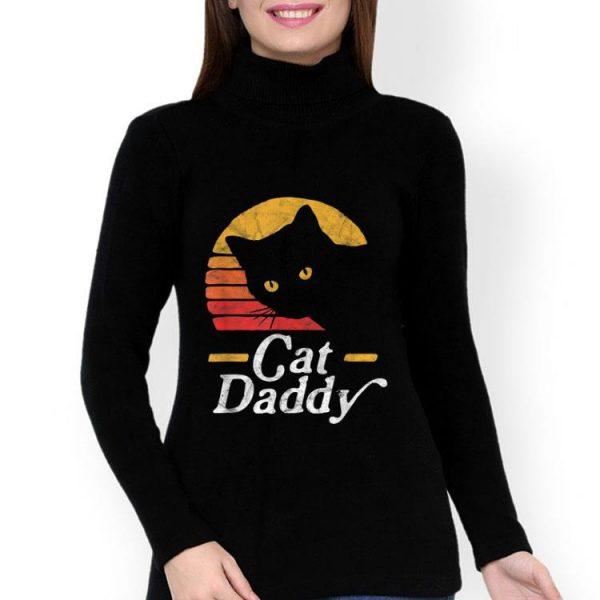 Cat Daddy Retro Vintage Sunset Cat shirt