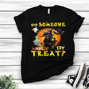 Dachshund Did Someone Say Treat Halloween Costume shirt