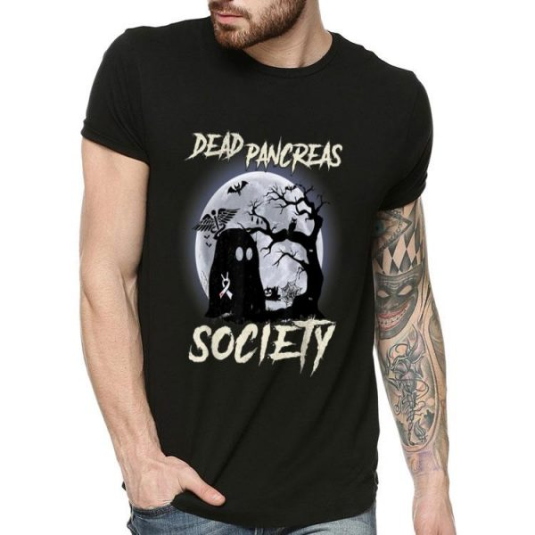 Dead Pancreas Society Halloween Diabetes Awareness shirt