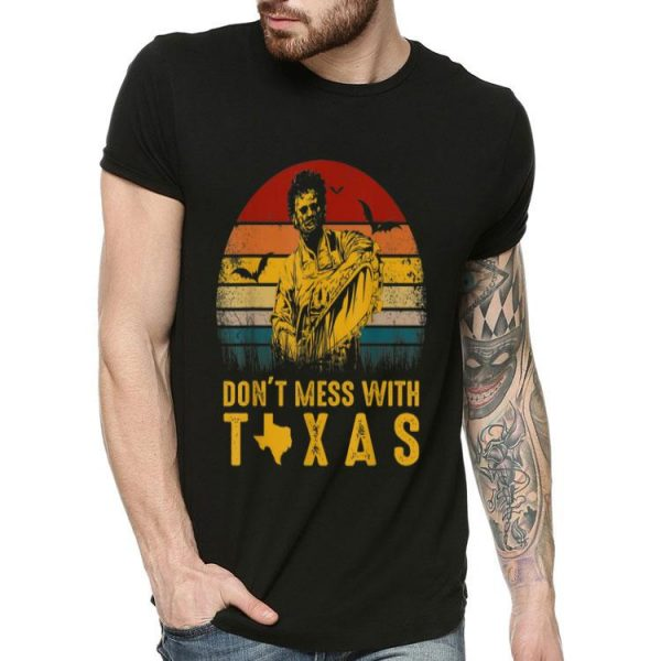 Dont Mess With Texas Vintage Halloween shirt