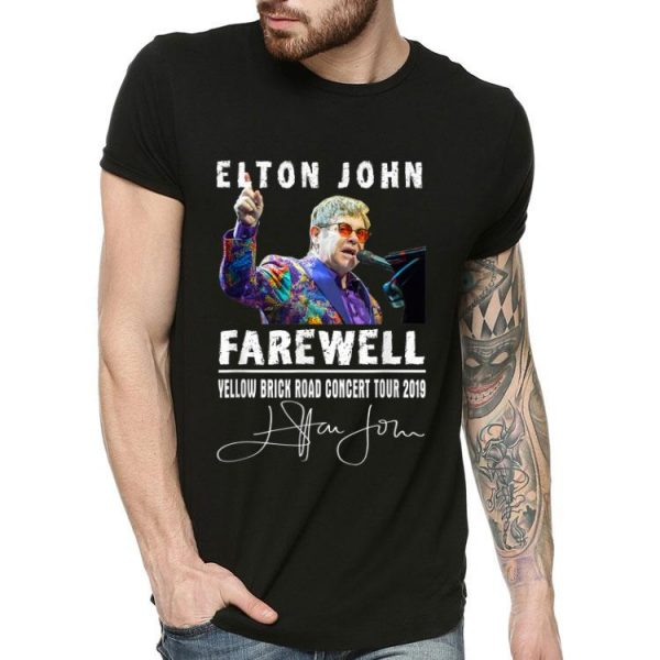 Elton John Farewell Yellow Brick Road Concert Tour 2019 shirt