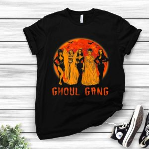 Ghoul Gang Bad Witches Halloween Blood Moon shirt