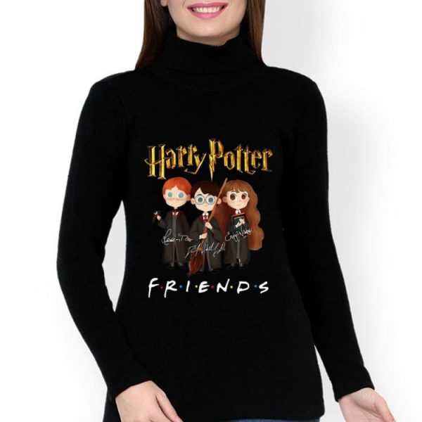Harry Potter Friends Signatures Harry Ron And Hermione shirt
