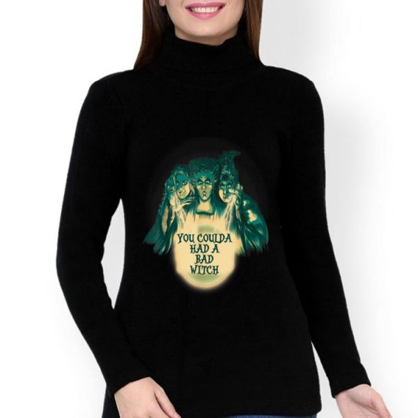 Hocus Pocus You Coulda Had A Bad Witch Halloween shirt